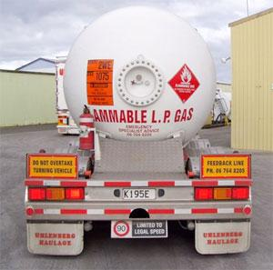 Uhlenberg's specialise in safe haulage of dangerous goods